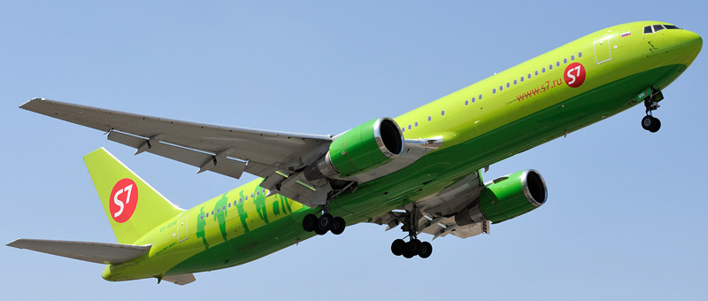 Boeing 767-300ER S7-Airlines