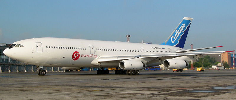 ИЛ-86 S7-Airlines