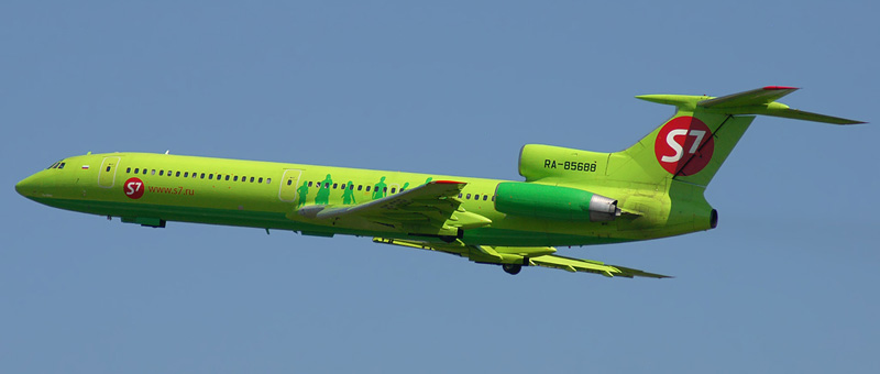 ТУ-154 S7-Airlines