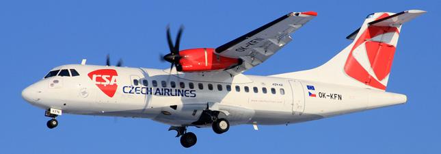 ATR-42 Чешские авиалинии