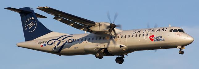 ATR-72 Чешские авиалинии