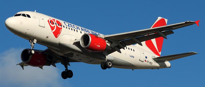Airbus A319-112 Чешские авиалинии