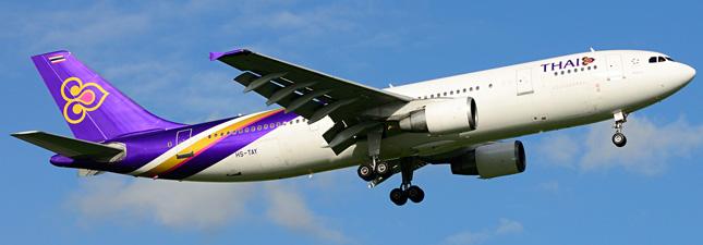 Airbus A300-600 Тайские авиалинии