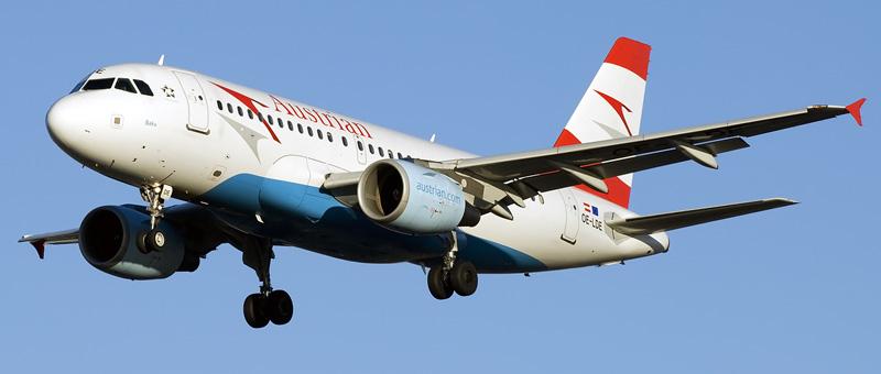 Airbus A319-100 Австрийские авиалинии
