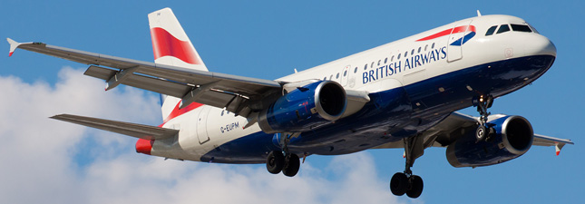 Airbus A319-100 British Airways