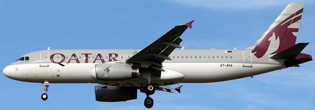 Airbus A320-200 Катарские авиалинии