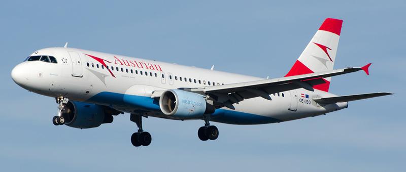 Airbus A320-200 Австрийские авиалинии