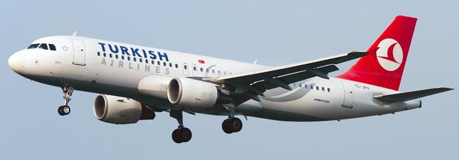 Airbus A320-200 Турецкие авиалинии