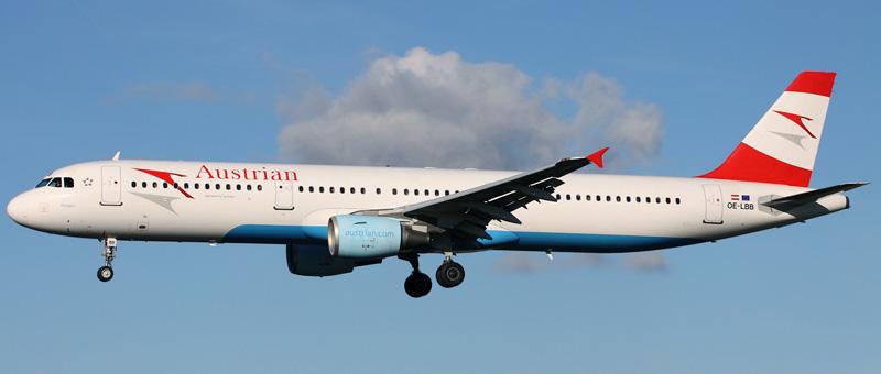 Airbus A321-111 Австрийские авиалинии