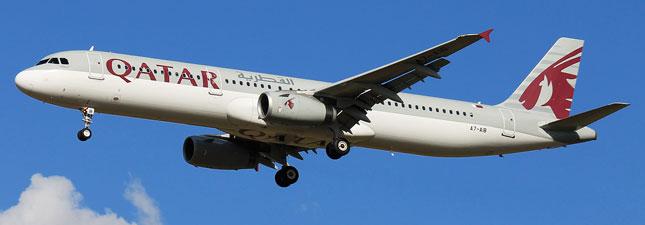 Airbus A321-200 Катарские авиалинии