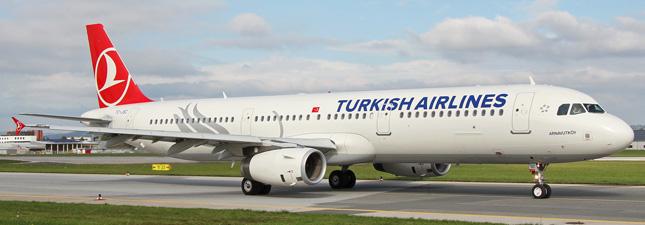 Airbus A321-200 Турецкие авиалинии