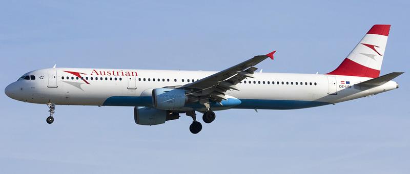 Airbus A321-211 Австрийские авиалинии