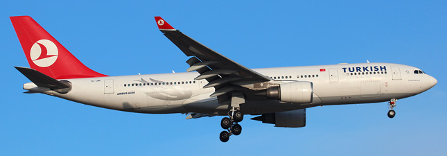 Airbus a330-300 turkish airlines схема салона