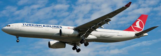Airbus A330-300 Турецкие авиалинии