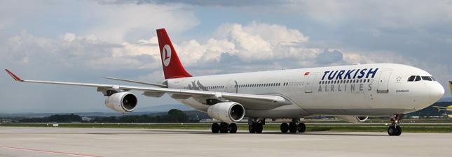 Airbus A340-300 Турецкие авиалинии