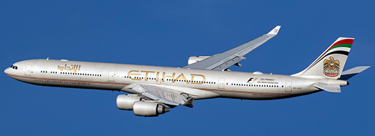 Airbus A340-500 Etihad Airways