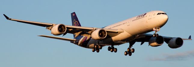 Airbus A340-500 Тайские авиалинии