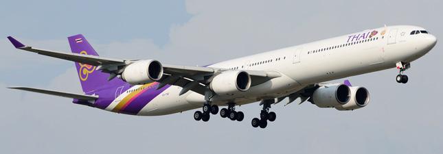 Airbus A340-600 Тайские авиалинии