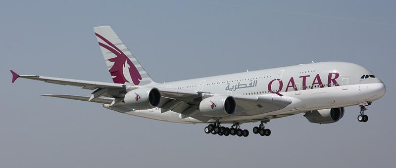 Airbus A380-800 Катарские авиалинии