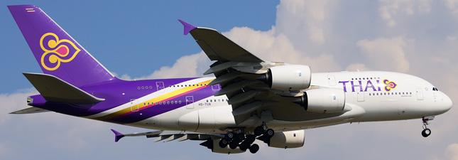 Airbus A380-800 Тайские авиалинии