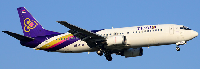 Boeing 737-400 Тайские авиалинии