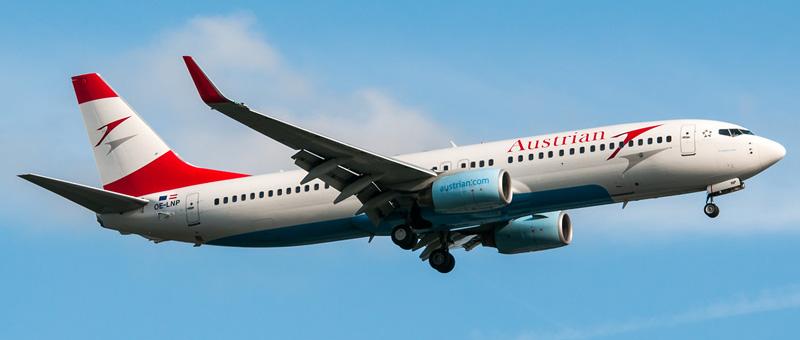 Boeing 737-800 Австрийские авиалинии