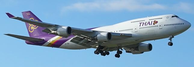 Boeing 747-400 Тайские авиалинии