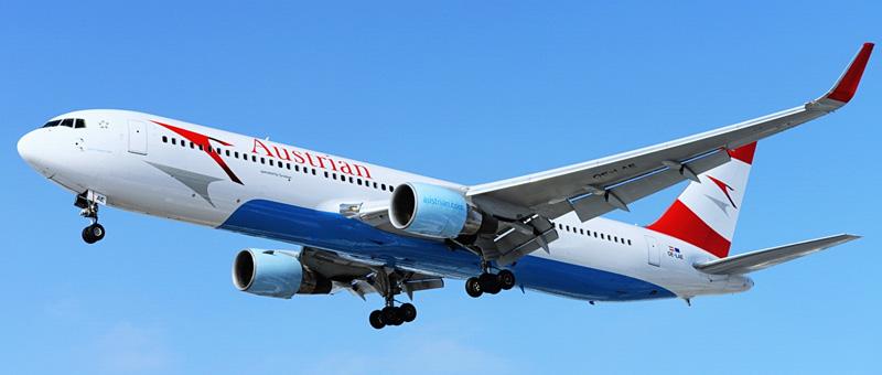 Boeing 767-301 Австрийские авиалинии