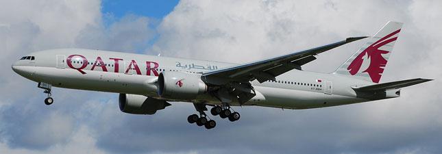 Boeing 777-200 Катарские авиалинии