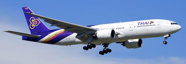 Boeing 777-200 Тайские авиалинии