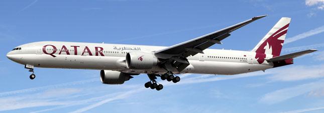 Boeing 777-300 Катарские авиалинии