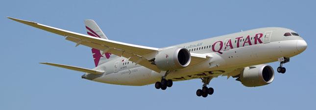 Boeing 787-8 Dreamliner Катарские авиалинии