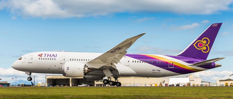 Boeing 787-8 Dreamliner Тайские авиалинии