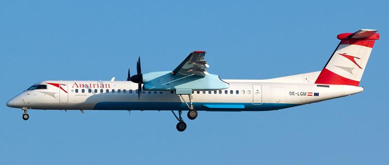 De Havilland Canada DHC 8-400 Австрийские авиалинии