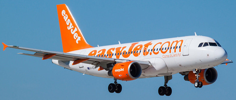 Airbus A319-111 EasyJet