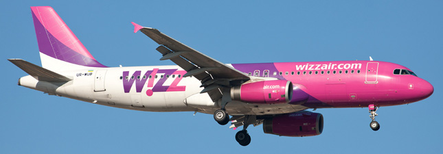 Airbus A320-200 Wizz Air (Украина)