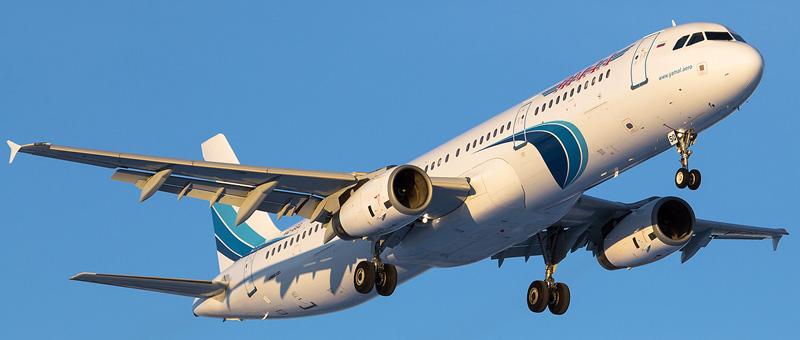 Airbus A321-200 Ямал