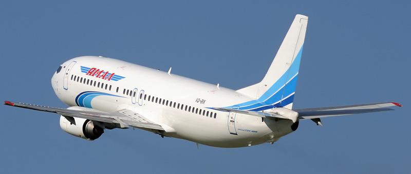 Boeing 737-48E Ямал