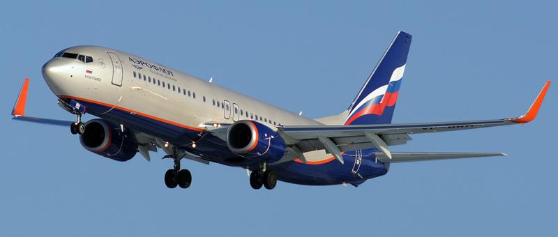 Лучшие места в самолете Boeing 737-800 Аэрофлот