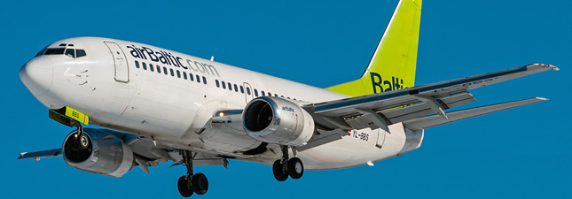 Boeing 737-300 Air Baltic