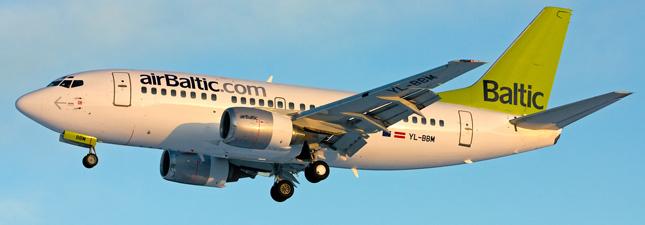 Boeing 737-500 Air Baltic