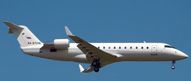CRJ 200LR Метроджет