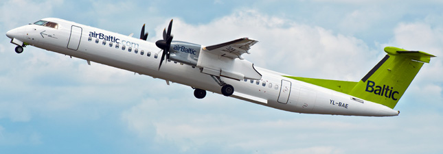 De Havilland Canada DHC-8-400 Air Baltic