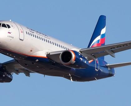 Лучшие места в самолете Сухой Суперджет 100-95B Аэрофлот.