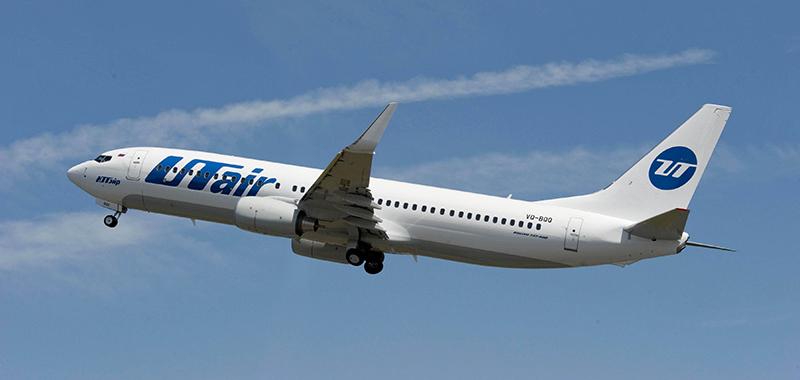 Схема салона Boeing 737-800 — UTair