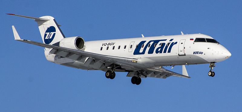 Схема салона Бомбардье CRJ-200 — Utair