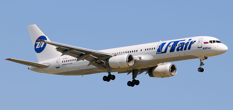 Схема салона Boeing 757-200 UTair