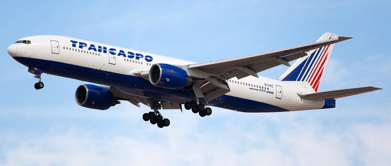 Схема салона Boeing 777-200 (3 класса) — Трансаэро. Лучшие места в самолете