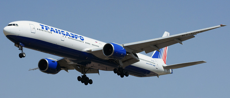 777-300 — Трансаэро. Схема