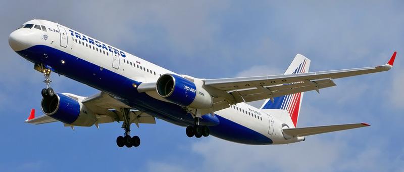 Схема салона и лучшие места в самолете Ту-214 — Трансаэро